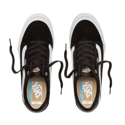 VANS Style 112 Pro Shoes Black/White/Khaki