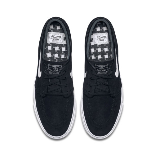 NIKE SB Stefan Janoski OG Shoes Black/White-Gum Light Brown