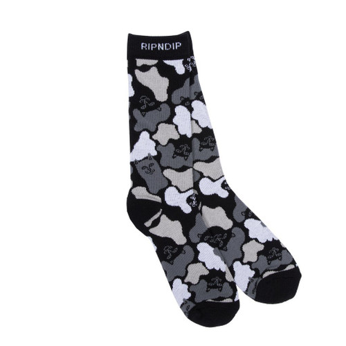 RIPNDIP Blizzard Socks Black