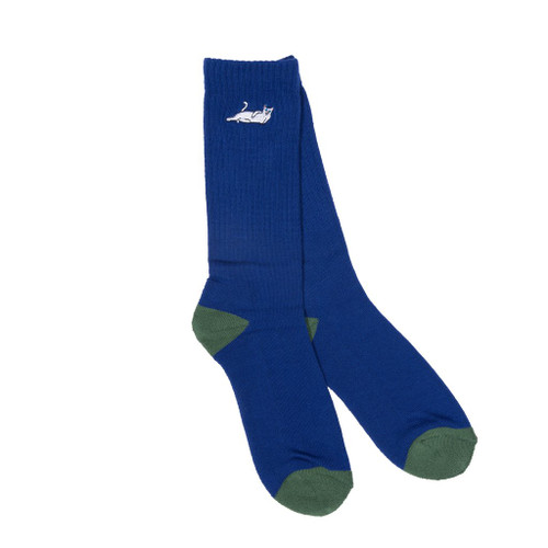 RIPNDIP Castanza Socks Navy/Hunter Green