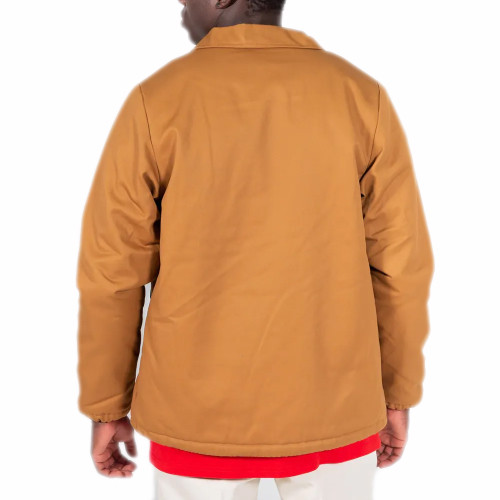DICKIES Shiner Coaches Jacket Brown Duck