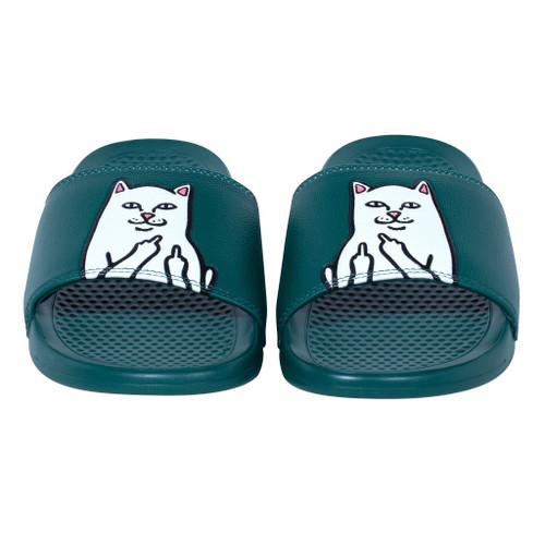 RIPNDIP Lord Nermal Slides Hunter Green