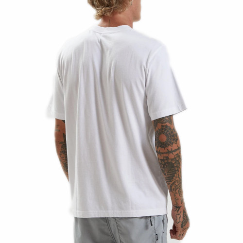 AFENDS Maddock Recycled Retro Fit Tee White