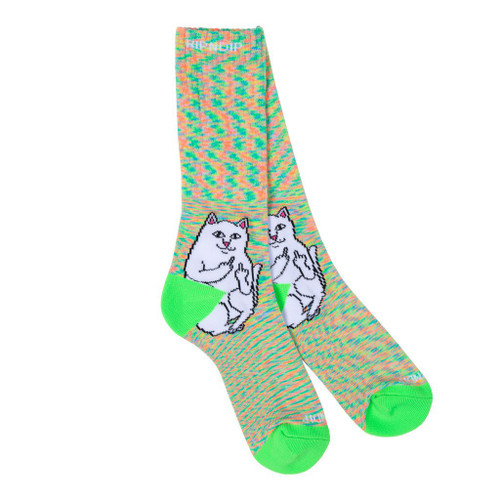RIPNDIP Lord Nermal Socks Neon Speckle