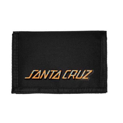 SANTA CRUZ Snake Dot Velcro Wallet Black
