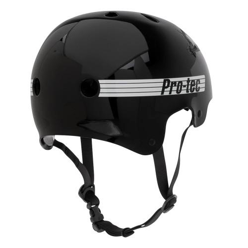 PRO TEC Old School Certified Helmet Gloss Black