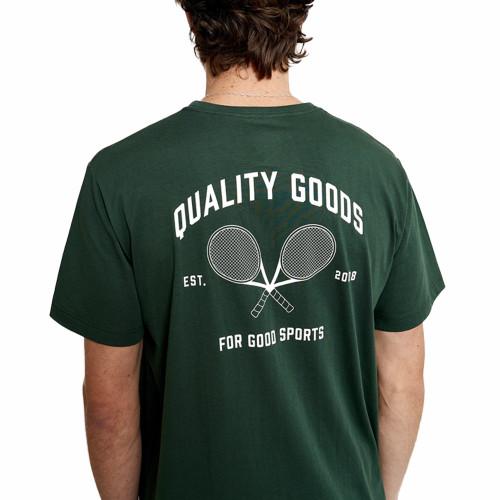 MR SIMPLE Quality Goods Reginald Tourist Tee Bottle Green