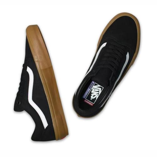 VANS Skate Old Skool Shoes Black/Gum