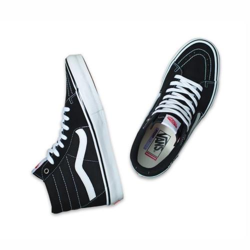 VANS Skate Sk8-Hi Shoes Black/White