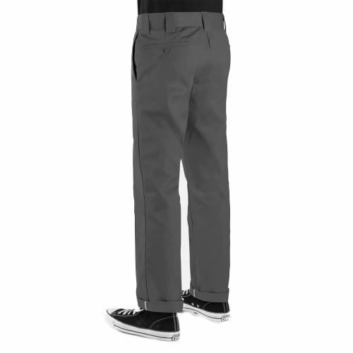 DICKIES 873 Slim Straight Work Pants Charcoal