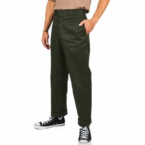 DICKIES Original 874 Traditional Mens Work Pants Olive Green