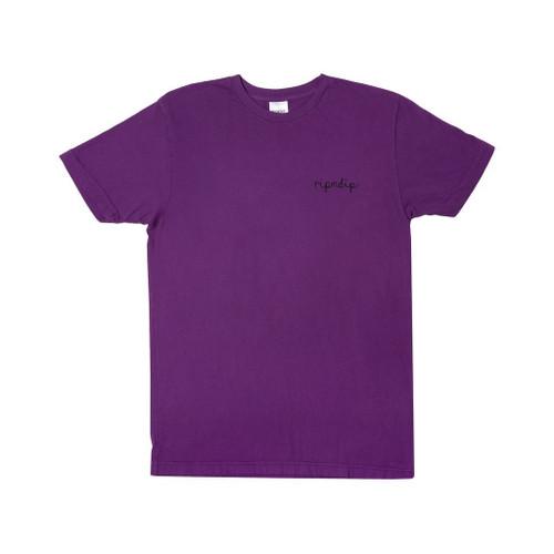RIPNDIP Tangled Tee Purple