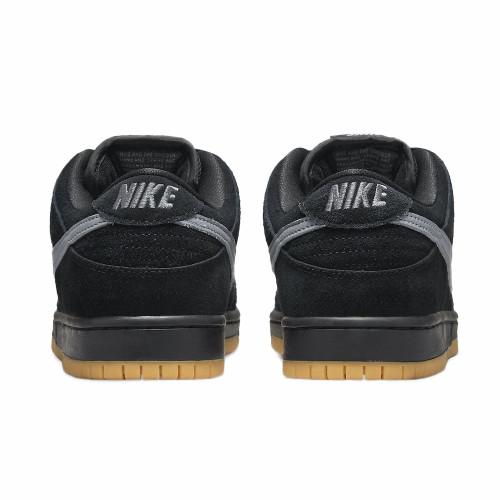 NIKE SB Dunk Low Pro Shoes (FOG) Black/Cool Grey-Black-Black