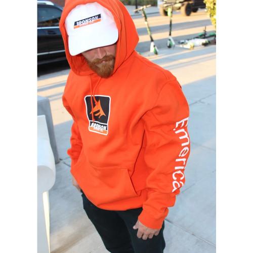 EMERICA Bronson Hoodie Orange