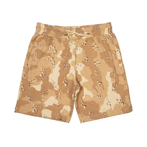 RIPNDIP Nerm Camo Sweat Shorts Choc Chip Camo