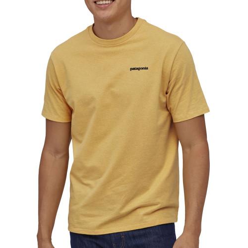 PATAGONIA P-6 Logo Responsibili- Tee Surfboard Yellow