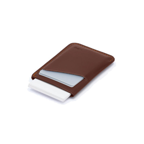 BELLROY Card Sleeve Leather Wallet Cocoa