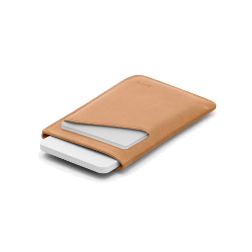BELLROY Card Sleeve Leather Wallet Tan