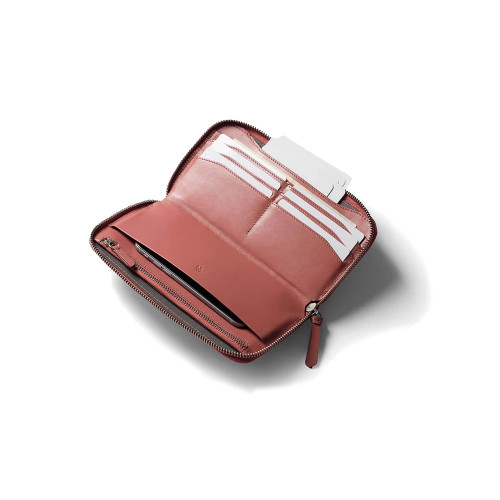 BELLROY Folio Womens Wallet Deep Blush