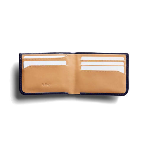 BELLROY Hide & Seek RFID Leather Wallet Navy