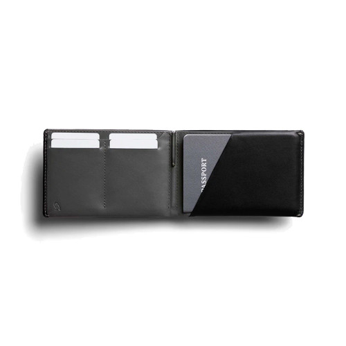 BELLROY Leather RFID Travel Wallet Black