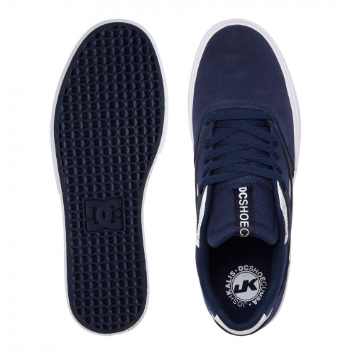 DC Kalis Vulc S Shoes Navy/White
