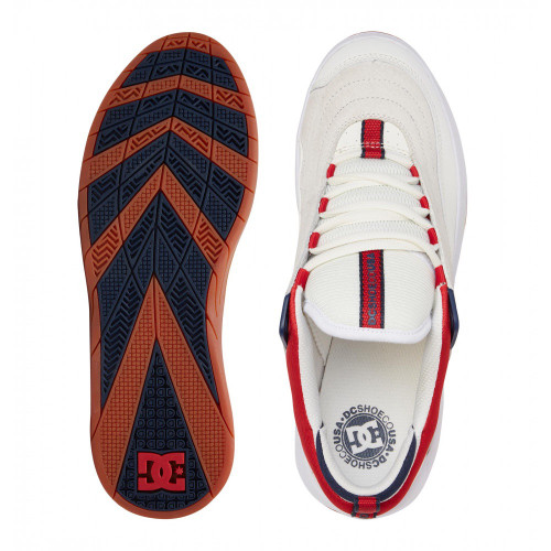 DC Williams Slim S Shoes White/Navy/Red
