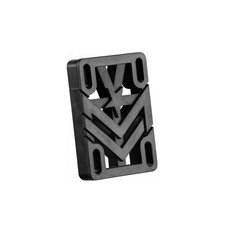MINI LOGO Riser Pads Black, .50 (Pair)