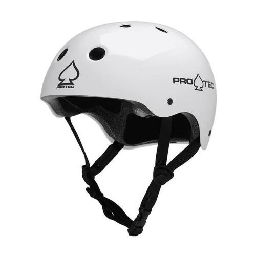 PRO TEC Classic Certified Helmet Gloss White