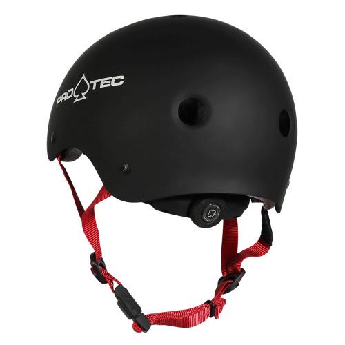 PRO TEC Classic Certified Helmet JR Matte Black
