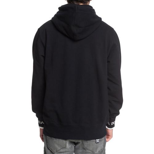 DC Middlegate Pullover Hood Black