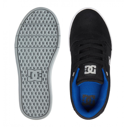 DC Crisis Kids Shoes Black/Grey/Blue