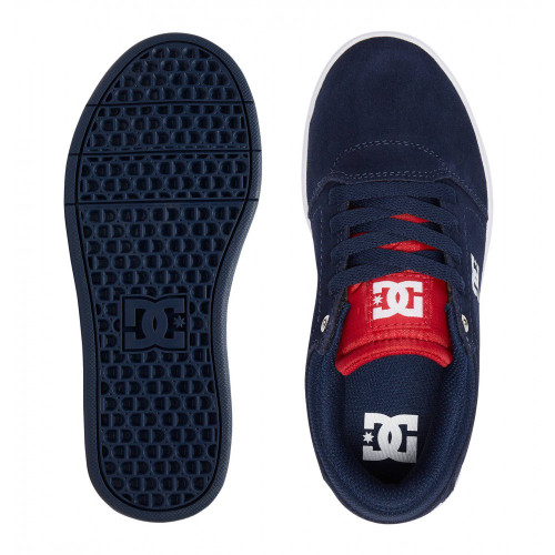 DC Crisis Kids Shoes Navy/White
