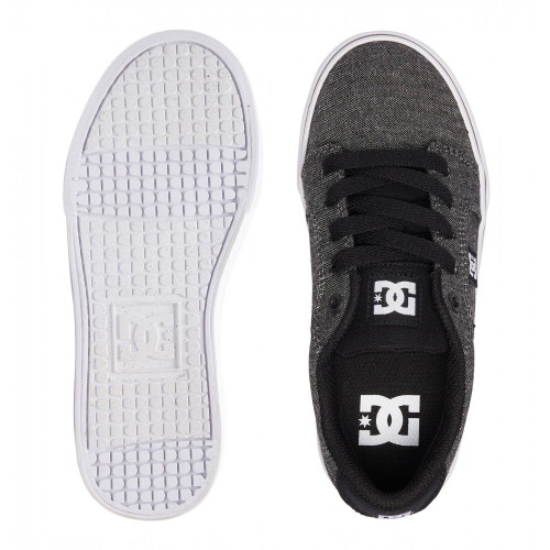 DC Anvil SE Kids Shoes Black/Herringbone