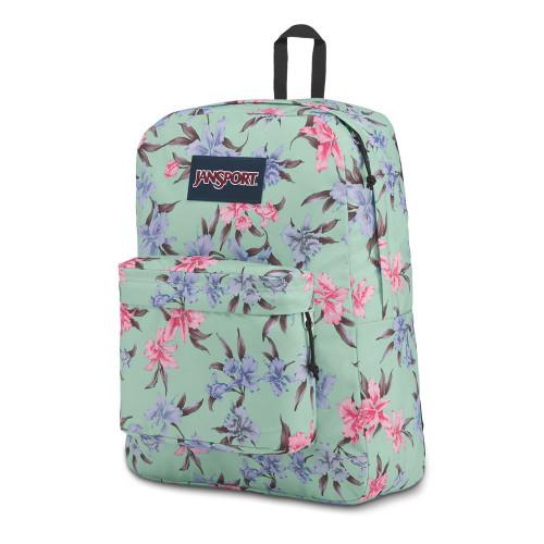JANSPORT Super Break Backpack Vintage Irises