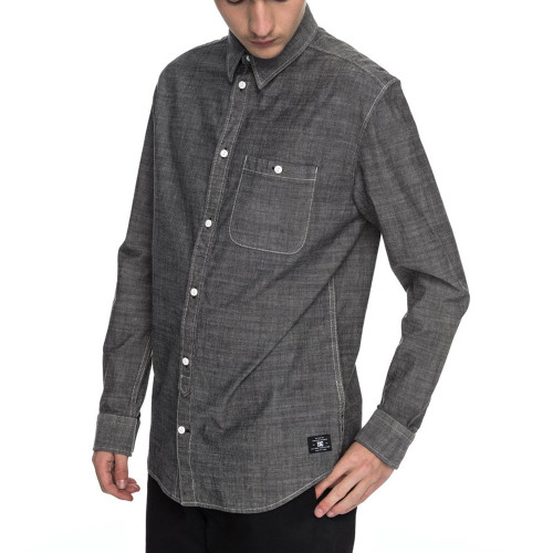 DC Arrowood 2 Shirt Black Chambray