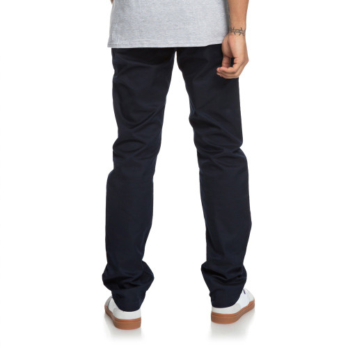 DC Straight Worker Chino Pants Dark Indigo