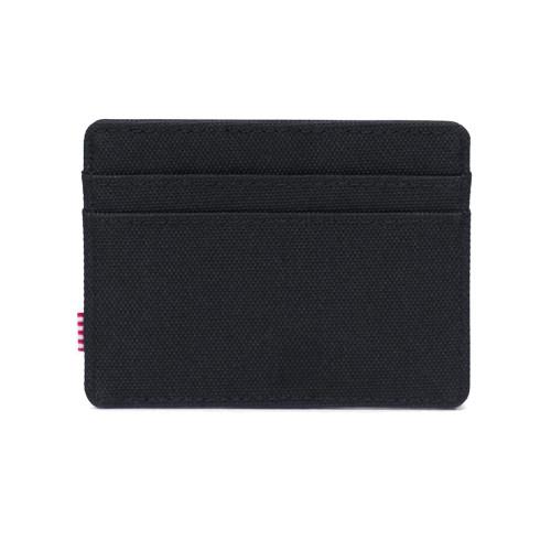 HERSCHEL Charlie Wallet RFID Black/Black