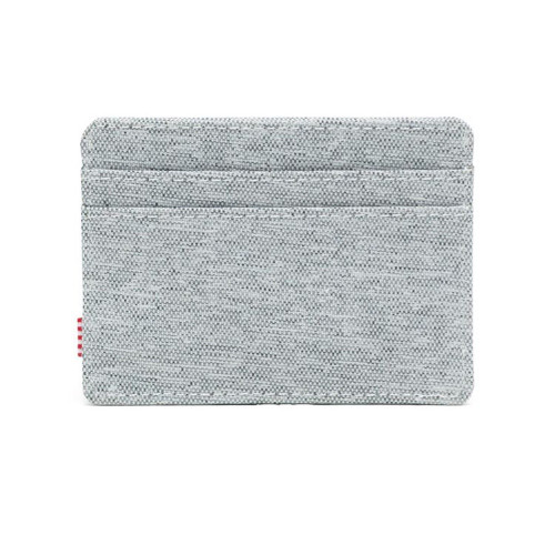 HERSCHEL Charlie Wallet RFID Light Grey Crosshatch