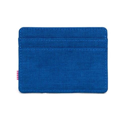 HERSCHEL Charlie Wallet RFID Monaco Blue Crosshatch