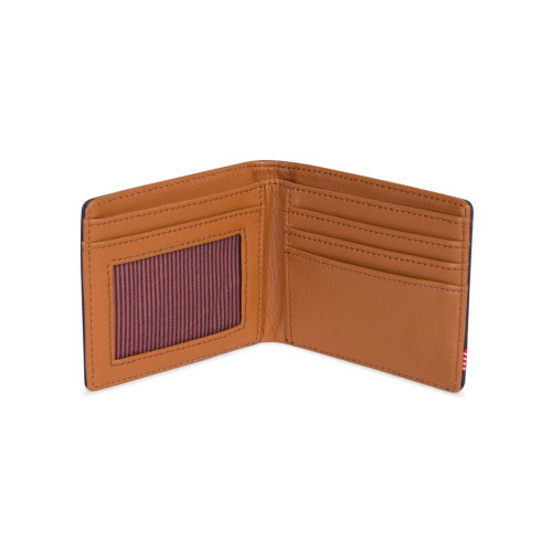 HERSCHEL Hank Wallet RFID Navy/Tan