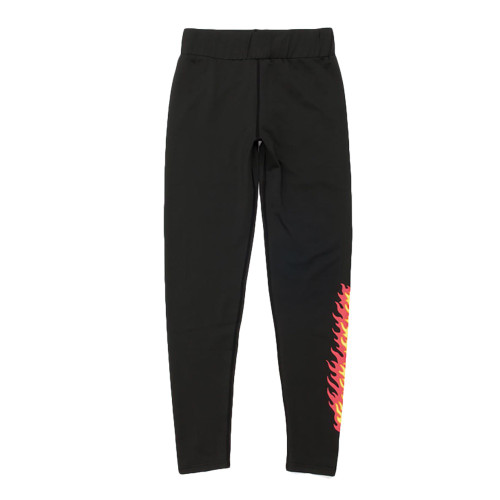 SANTA CRUZ Flame Leggings Black