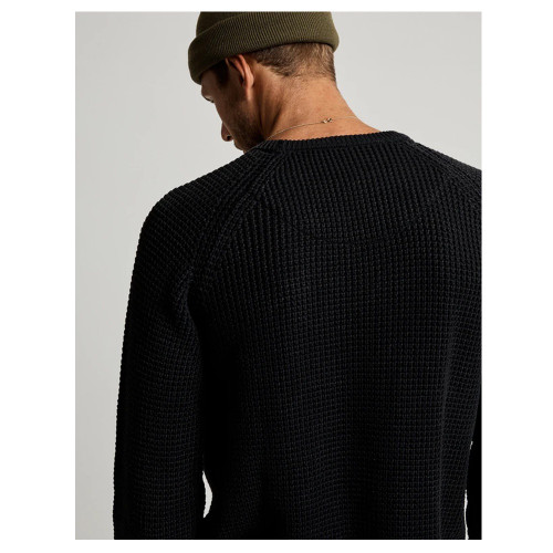 MR SIMPLE Chunky Knit Black