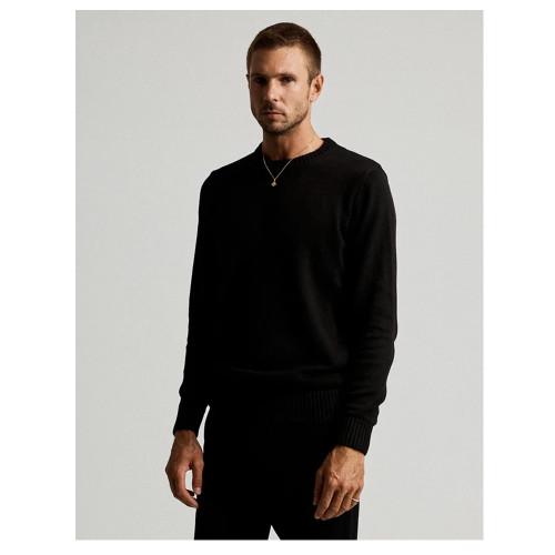 MR SIMPLE Standard Knit Black