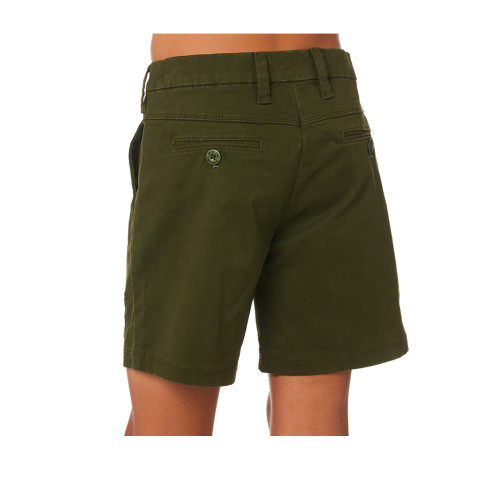 SANTA CRUZ Classic Cali Chino Youth Shorts Army