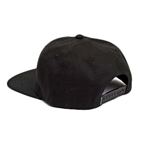 SANTA CRUZ Flaming Strip Cap Black