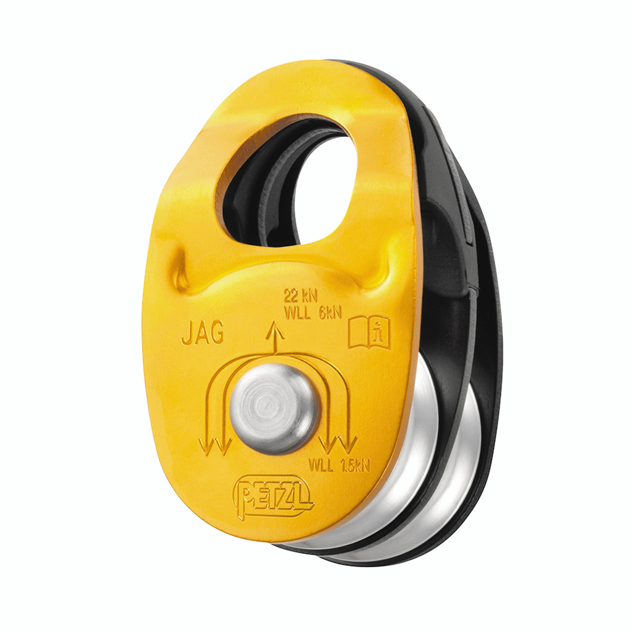 Petzl P52A PARTNER Ultra Compact High Efficiency Pulley