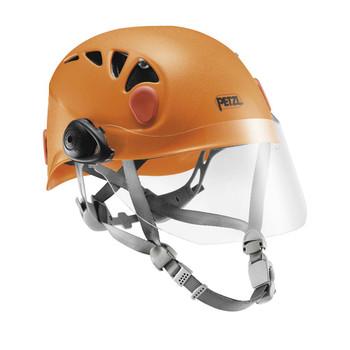 Helmet not included--shown for illustrative purposes only.
