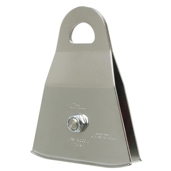 """CMI RP129NFPA 3"""" Stainless Steel Prusik Pulley (Bushing)"""