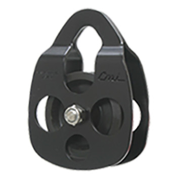 CMI RC102 Black Ropes Course Aluminum Pulley  (Bushing)